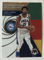2019-20 Mosaic Joel Embiid International Men Of Mastery #1