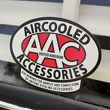 AAC sticker Aircooled Accessories protect your ride decal VW Volkswagen AAC075
