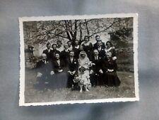Ancienne photo de mariage rural