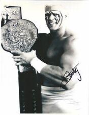 m950  Sting signed 8x10 wrestling photo w/COA  HISTORY **BONUS** WCW WWE