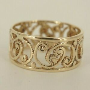 Women's 14K Gold Art Deco Ring