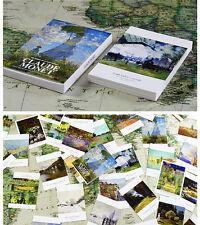 Lots 30 Pcs Claude Monet Famous Oil Paintings Impressionism Post Cards BULK