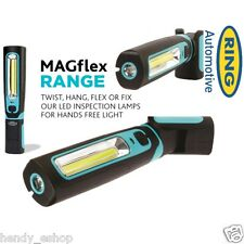 New! Ring MAGFLEX Twist Inspection Lamp Cordless Magnetic + Torch 250 lumens