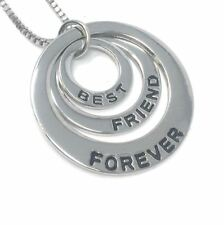 'Best Friend Forever' Necklace Pendant - UK Stock