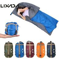 Outdoor Single Envelope Sleeping Bag Camping Travel Hiking Ultra-light Fleabag