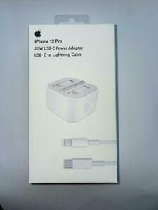 100% Genuine Apple 20W USB Type C Power Charger Adapter UK Plug iPhone 11 12 pro