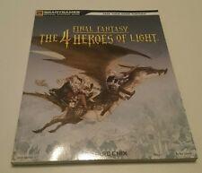 Final Fantasy the 4 Heroes of light solución libro Official Strategy Guide inglés