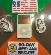 Apple iPod video classic 5th Generation white (30gb) New Battery
