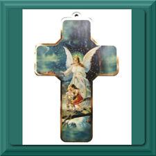 ✝️ Catholic Crucifix ✝️ Wall Cross St Saint Gabriel Archangel Guardian Angel NEW