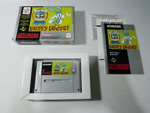 Tiny Toon Adventures Buster Busts Loose Complet Super Nintendo