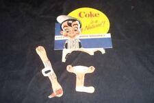 1950s Coke Rootie Kazootie Stars Cut Out Baseball Card