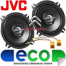 Citroen Saxo 1996 JVC 13cm 500 vatios 2 vías Puerta Coche Altavoces Y Conectores