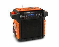 ION Garage Rocker Wireless Water-Resistant Worksite Speaker with Tool Organizer