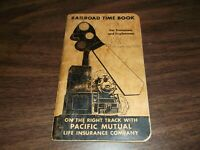 APRIL 1947-MARCH 1948 PENNSYLVANIA RAILROAD PRR ENOLA EMPLOYEE TIME BOOK