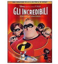 DISNEY DVD Gli incredibili - ed. italiana cartonata