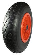 "350mm.(14"") Wheel. PUNCTURE PROOF TYRE  1"" bore to 1/2"". Wheelbarrow/Trolley*"