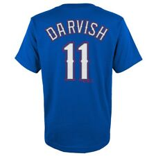Yu Darvish MLB Majestic Texas Rangers Player Jersey T-shirt Toddler Size 2t 2t
