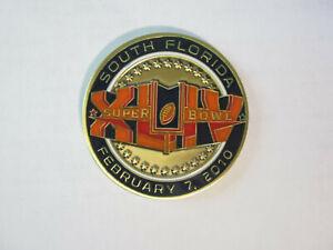Super Bowl XLIV 2010 Coin NFL Alumni # 675 / 700 New Orleans Saints vs Colts