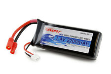 Tenergy 30C 7.4V 2200mAh Replacement LiPO Battery Pack for Syma X8C X8W X8G