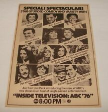 1976 ABC tv ad page ~ CHARLIE'S ANGELS, CAPTAIN+TENNILLE, NANCY WALKER...