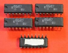 K155IE7 = 74193PC IC / Microchip USSR  Lot of 25 pcs