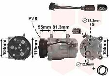 VAN WEZEL KOMPRESSOR KLIMAANLAGE AUDI A3 VW GOLF 4 MULTIVAN T5 CADDY 2