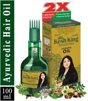 100ml Kesh King ayurvedic herbal STRONG root scalp hair growth oil hair loss oil