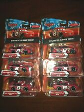 DISNEY CARS    Dale Earnhardt Jr    Synthetic Rubber Tires   LOT of 6