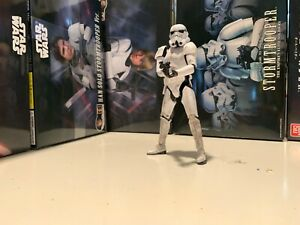 Completely built and lightly weathered Bandai  1/12 stormtrooper