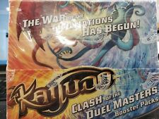 Kaijudo Clash of the Duel Masters sealed booster box