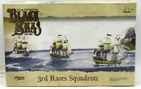 Black Seas 792010002 3rd Rates Squadron (Ship Expansion) Warlord Games Sail Age