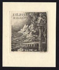 42)Nr.118-EXLIBRIS, Künstler / Artist W.N.,  C3 - Radierung