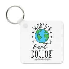 World's Best Doctor Keyring Key Chain - Funny Gift Present
