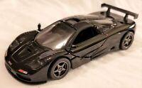 Kinsmart - 1:34 Scale Model 1995 McLaren F1 GTR Black (BBKT5411DBK)