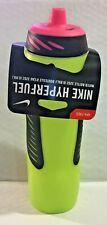 NIKE HyperFuel Water Bottle 32 oz 950 ml, Volt/Black/Hyper Pink - NEW!
