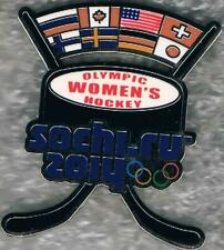 Rare 2014 Sochi Women's Hockey Olympic Sports Pin