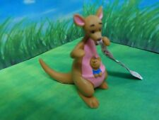 DISNEY BULLYLAND KANGA WITH BABY ROO IN POUCH CAKE TOPPER / COLLECTABLE