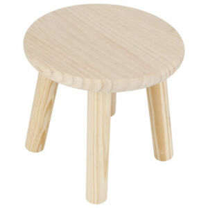 Multi Purpose Wood Stools Cute Small Bench Child DIY Furniture Household