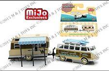 GREENLIGHT HITCH & TOW V-DUB MIJO EXCLUSIVE VW SAMBA BUS &64 WINNEBAGO IN STOCK