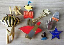 10 x Parfum Pin / Pins: 10 verschiedene edle Pins - Set G  - Schnäppchen!!!