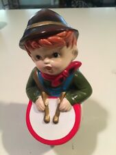 Vintage A Star Creation Hand Painted Musical Drummer Boy Japan