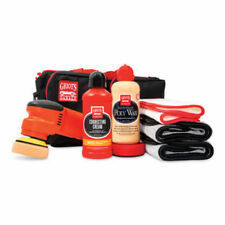 """NEW GRIOTS GARAGE 3"""" ORBITAL CORRECTING AND POLY WAX KIT, 10' CORD"""
