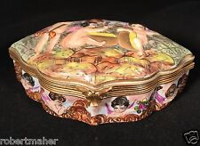 Capodimonte Antique Porcelain Box MAKE ME AN OFFER!!!