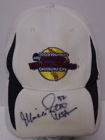 MICHELLE SMITH SIGNED 2009 WOMEN'S COLLEGE WORLD SERIES HAT USA OLYMPIC SOFTBALL