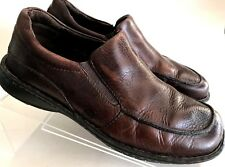 BORN Men's Slip On Casual Loafers Shoes Size 10 US/ 44 Brown Full Grain Leather