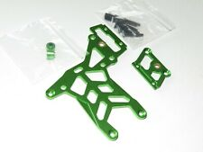 YY-MADMAX HPI KM ROVAN BAJA 1/5 5T 5B REAR ALUMINUM BRAKE TOP PLATE KIT GREEN