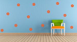 20 x Flower Vinyl stickers Decal Mural Crafting Cardmaking Wall Mirror Window