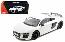 MAISTO AUDI R8 V10 PLUS WHITE EXCLUSIVE EDITION 1/18 DIECAST MODEL  38135