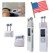 Portable Wireless Galvanic Roller Beauty Facial Skin Care Spa Salon Machine Kit