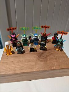 Lego Ninjago BRAND NEW Minifigures Bundle Job Lot Collection - x10 Minifigs